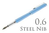 Nemosine Fission Classic Blue 0.6mm Stub Nib  Fountain Pen