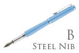 Nemosine Fission Classic Blue Broad Point Fountain Pen