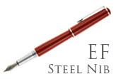 Nemosine Fission Classic Red Extra Fine Point Fountain Pen
