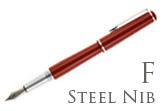 Nemosine Fission Classic Red Fine Point Fountain Pen