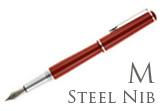 Nemosine Fission Classic Red Medium Point Fountain Pen