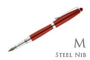 Nemosine Neutrino Classic Red Medium Point Fountain Pen