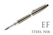 Nemosine Neutrino Gunmetal Extra Fine Point Fountain Pen