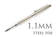 Nemosine Neutrino Nickel 1.1mm Calligraphy Nib  Fountain Pen
