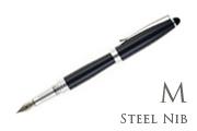 Nemosine Neutrino Navy Medium Point Fountain Pen