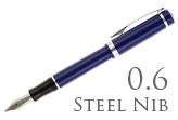 Nemosine Singularity Blueberry 0.6mm Stub Nib  Fountain Pen