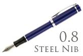 Nemosine Singularity Blueberry 0.8mm Stub Nib  Fountain Pen