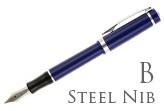Nemosine Singularity Blueberry Broad Point Fountain Pen