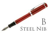 Nemosine Singularity Cardinal Red Broad Point Fountain Pen