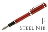 Nemosine Singularity Cardinal Red Fine Point Fountain Pen