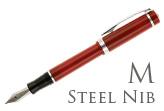 Nemosine Singularity Cardinal Red Medium Point Fountain Pen