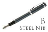 Nemosine Singularity Granite Grey Broad Point Fountain Pen