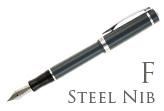 Nemosine Singularity Granite Grey Fine Point Fountain Pen