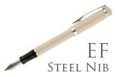 Nemosine Singularity Ivory Extra Fine Point Fountain Pen