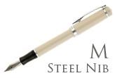 Nemosine Singularity Ivory Medium Point Fountain Pen