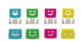 Ohto Slide Clipper Smile Small Vivid  Paper Clip