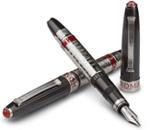Omas Le Citta Roma Charcoal Grey Medium Point Fountain Pen