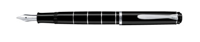 Pelikan Tradition Series 215 Black Fine Point Fountain Pen