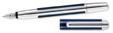 Pelikan Pura Series Blue & Silver Fine Point Fountain Pen