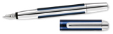 Pelikan Pura Series Blue & Silver Broad Point Fountain Pen