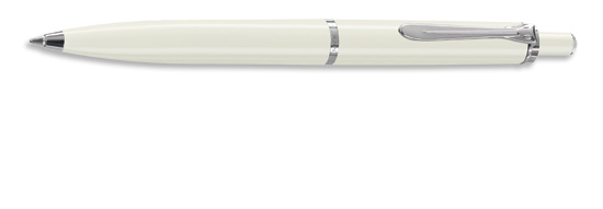 Pelikan Tradition Series 205 White w/ Silver Gift Box  Ballpoint Pen