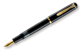 Pelikan Tradition Series 200 Black GT Broad Point Fountain Pen