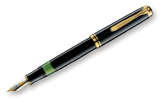 Pelikan Souveran 400 Black GT Broad Point Fountain Pen
