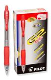Pilot G2 Premium Red Ultra Fine Pack of 12  Gel Pen