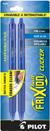 Pilot FriXion Clicker - Blue 2 Pack  Gel Pen