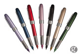 Platinum Plaisir Rainbow - 7 Colors Medium Point Fountain Pen