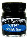 Private Reserve Fast Dry Ink Midnight Blues 50ml  Bottled Ink