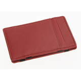 Royce Leather Wallet - Red Magic