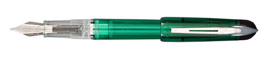 Waterman Phileas Kultur Translucent Green Fine Point Fountain Pen