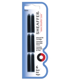 Sheaffer Refills Pack of 5 - Black Ink for VFM  Fountain Pen Cartridge