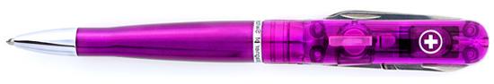 Wagner Victorinox Prestige Swiss Pen Violet  Multi Functional Pen