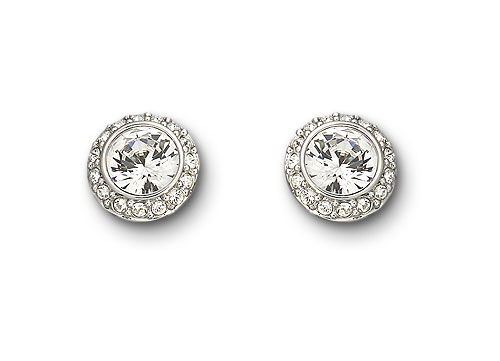 Swarovski Pierced Earrings Angelic  Jewelry