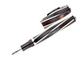 Visconti Divina Elegance Royal Brown Oversized Medium Pt Fountain Pen