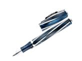 Visconti Divina Elegance Imperial Blue Medium Size EF Fountain Pen