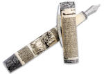 Visconti Declaration of Independence Sterling SIL Trim M Fountain Pen