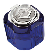 Visconti Refills Blue with White Gold  ink pot