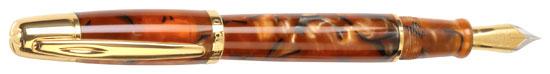 Waterford Pallas Tortoise Medium Point Fountain Pen