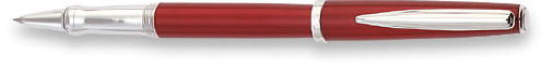 Waterford Marquis Claria Red Lacquer  Rollerball Pen