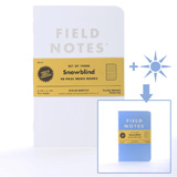 Field Notes COLORS Special Edition Snowblind