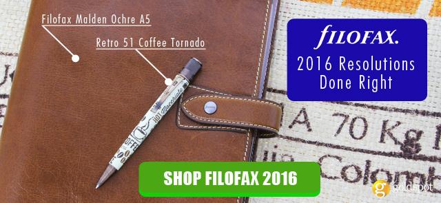 Shop 2016 Filofax Organizers and inserts refills