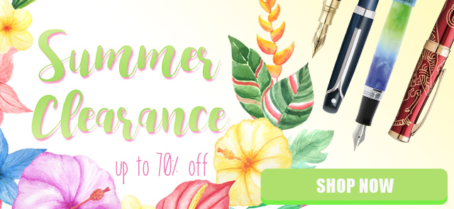 2016 Summer Clearance Discounted Pens and Writing Gear