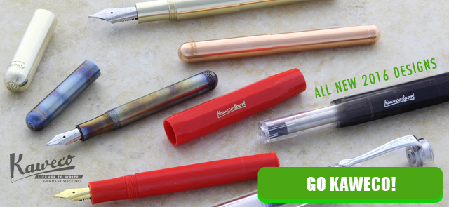 Shop all new Kaweco Germany pen designs
