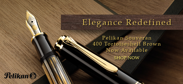 Introducing a modern classic from Pelikan Germany - the Souveran 400 Tortoiseshell Brown special edition is here for a limited time only