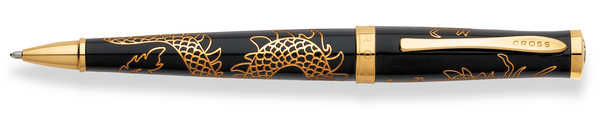 Cross Special Edition Year of the Dragon - Black Laquer  Ballpoint Pen