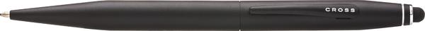 Cross Tech 2 Satin Black w/ Capacitive Touch Screen Stylus  Ballpoint Pen