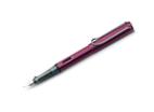 Lamy AL-Star Black/Purple Fine Point Fountain Pen